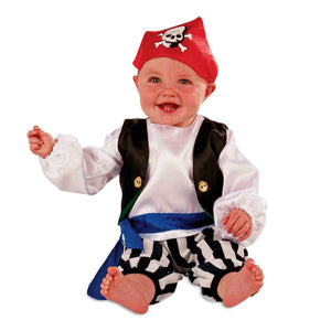 Baby / Toddler Pirate Fancy Dress Costume - Slimy Toad