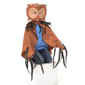Owl Fancy Dress Costume - Front View - Slimy Toad