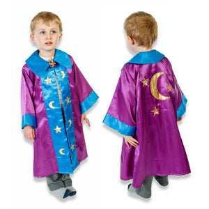 Wizard Coat Fancy Dress Costume - Slimy Toad