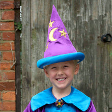 Moon & Star Wizard Fancy Dress Hat - Lifestyle - Slimy Toad