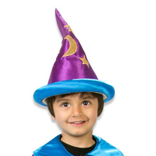 Moon & Star Wizard Fancy Dress Hat - Slimy Toad