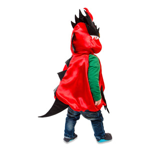 Baby / Toddler Dragon Costume - Back View - Slimy Toad