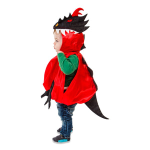 Baby / Toddler Dragon Costume - Side View - Slimy Toad