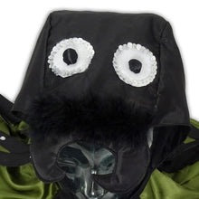 Spider Fancy Dress Costume - Face Detail - Slimy Toad