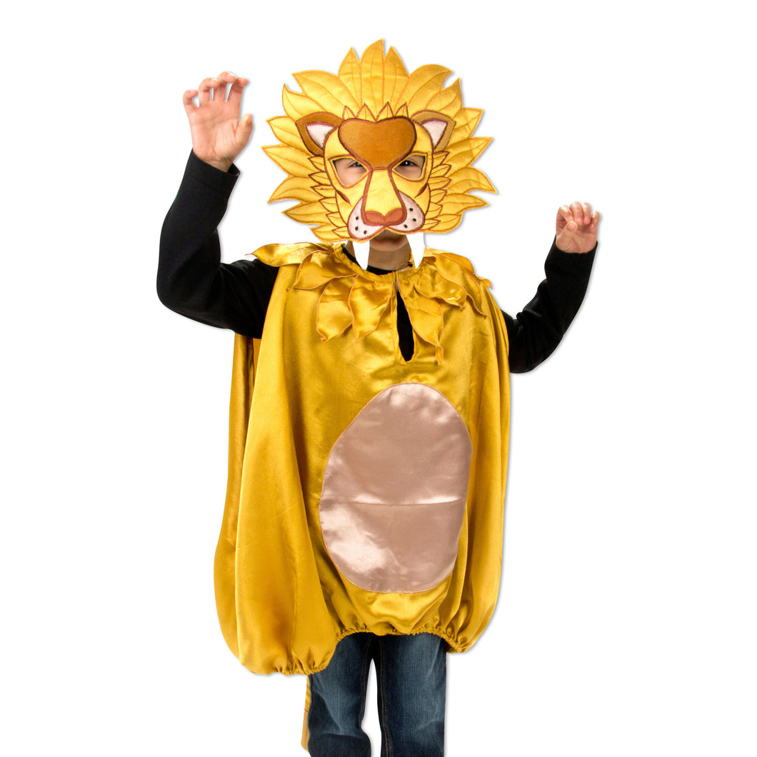 Lion Fancy Dress Costume