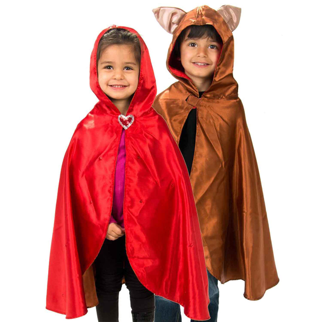Red Riding Hood & Wolf Fancy Dress Costume - Slimy Toad