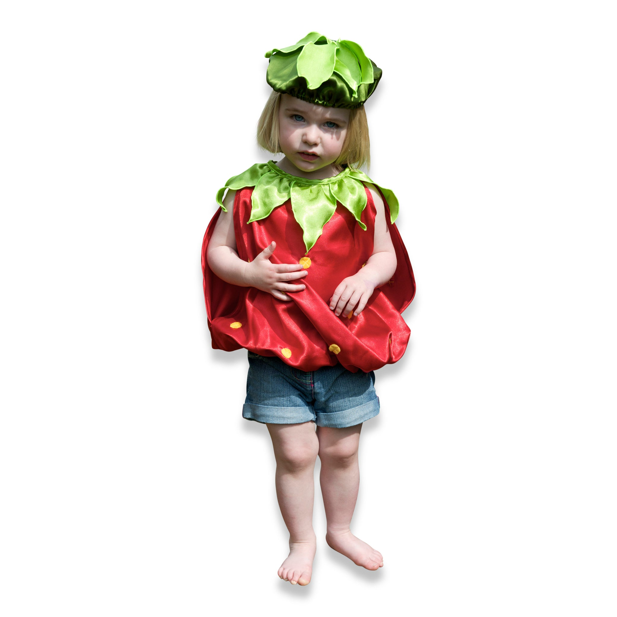 Baby Toddler Strawberry Fancy Dress Costume – Lucy Locket Toys & Gifts