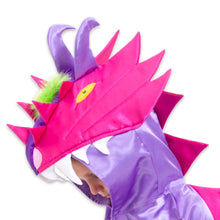 Dragon Fancy Dress Costume - Head Detail - Lucy Locket