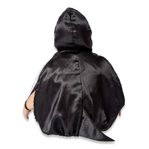 Penguin Fancy Dress Costume - Back View - Slimy Toad