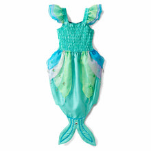 Luxury Mermaid Fancy Dress Costume - Back View - Lucy Locket