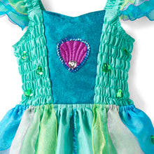 Luxury Mermaid Fancy Dress Costume - Bodice Detail - Lucy Locket