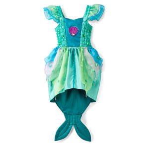 Luxury Mermaid Fancy Dress Costume - Front - Lucy Locket