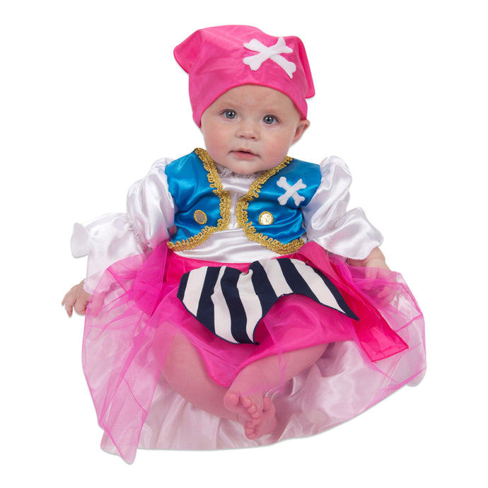 Baby / Toddler Girl Pirate Costume - Lucy Locket