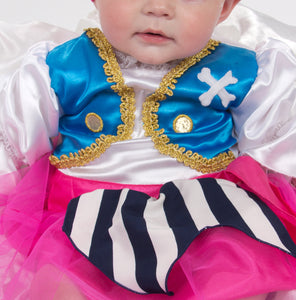 Baby / Toddler Girl Pirate Costume - Details - Lucy Locket