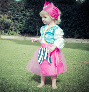 Baby / Toddler Girl Pirate Costume - Lifestyle - Lucy Locket