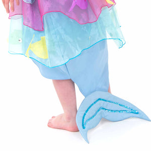Tropical Mermaid Fancy Dress Costume - Tail Detail - Lucy Locket