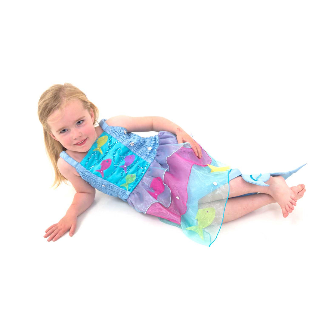 Tropical Mermaid Fancy Dress Costume - Lucy Locket