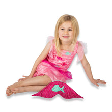 Pink Mermaid Fancy Dress Costume - Lucy Locket