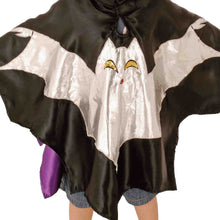Bat Fancy Dress Costume - Shimmering Bat Applique - Slimy Toad