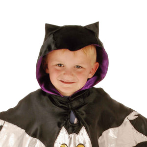 Bat Fancy Dress Costume - Hot and Bat Ears - Slimy Toad