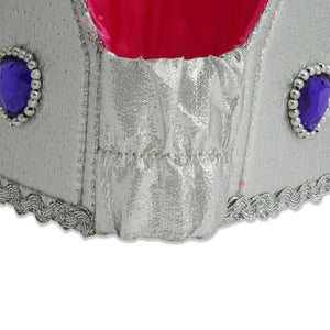 Jewel Queen Fancy Dress Crown - Elastic Back - Lucy Locket