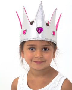 Jewel Queen Fancy Dress Crown - Lucy Locket