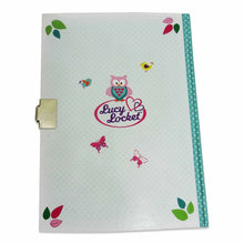Woodland Secret Diary (lockable) Back Cover - Lucy Locket
