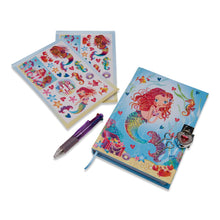 Mermaid and Friends Secret Diary - Diary, Stickers and Pen - Lucy Locket