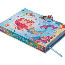 Mermaid and Friends Secret Diary - Front Cover & Spine - Lucy Locket