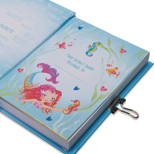 Mermaid and Friends Secret Diary -This diary belongs to page... Lucy Locket