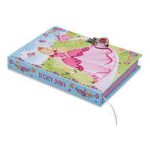 Princess Diary -  Secret Diary Spine - Lucy Locket