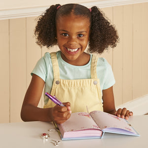 Princess Diary -  Child Writing in Secret Diary - Lucy Locket