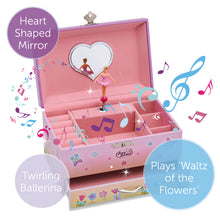 Fairy Musical Jewellery Box - Main Image - Lucy Locket - Infographic 1