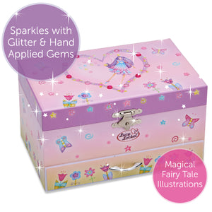 Fairy Musical Jewellery Box - Main Image - Lucy Locket - Infographic 4