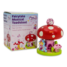 Fairy Tale Toadstool Wooden Music Box - Packaging - Lucy Locket