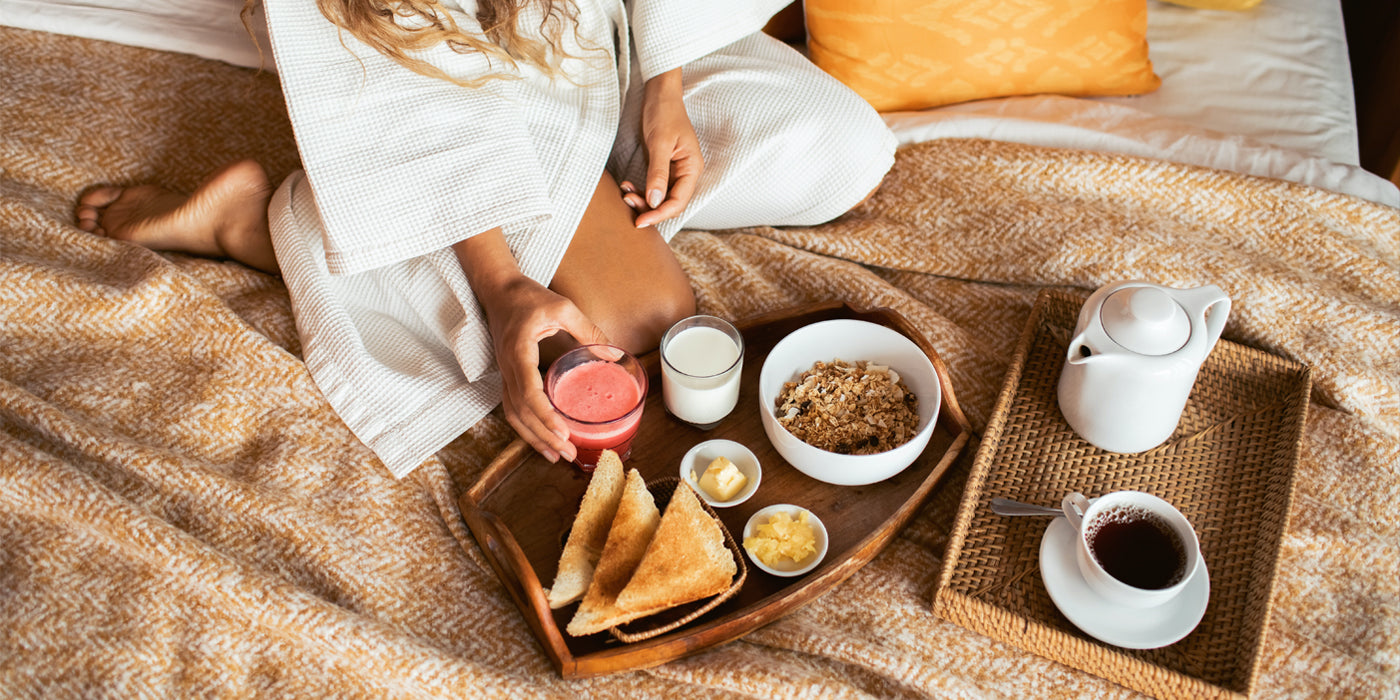 Whatever happened to breakfast in bed?