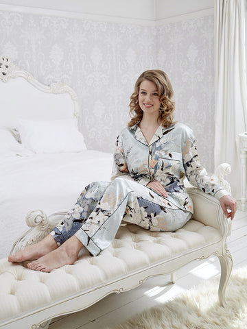 Ladies Silk Pyjamas