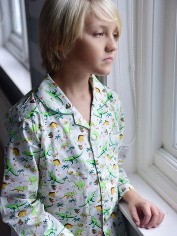 Pure Cotton Dinosaur Boys Pyjamas