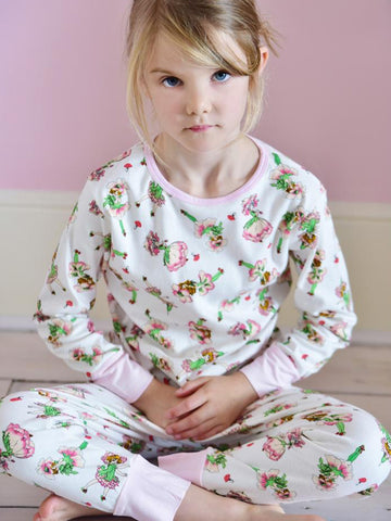 Garden Fairy - Girls Cotton Pyjamas