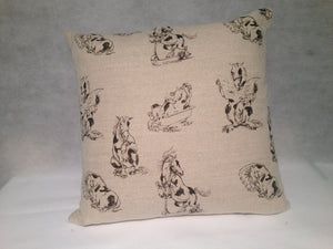 Dobbin Cushion - Classic Cotton