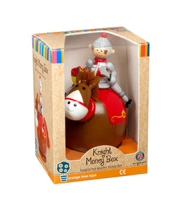 Knight Money Box - Classic Cotton