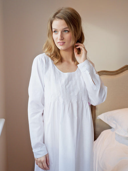 Long Sleeve Ladies Nightdress