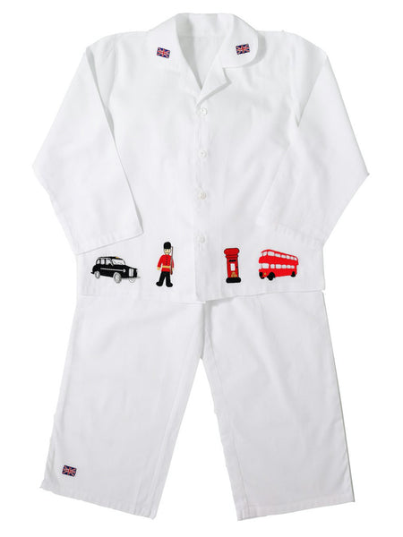 Vintage British London - Pure Cotton Boys Pyjamas