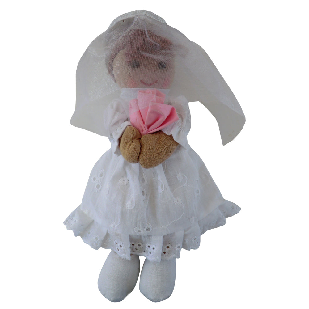 Bride- Traditional Ragdoll- Soft Toy - Classic Cotton