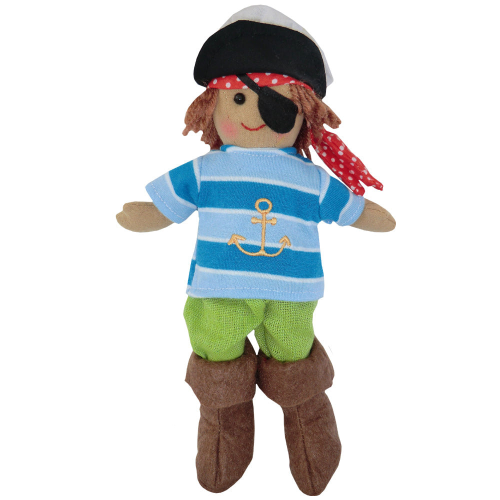 Pirate Rag Doll - Classic Cotton