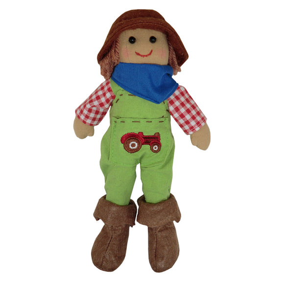 Farmer rag Doll