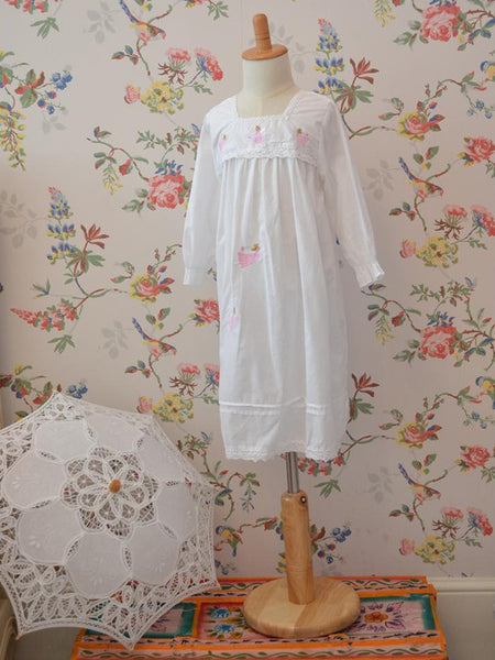 Pure Cotton Girls Nightdress