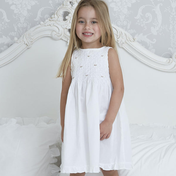 Molly - Pure Cotton Girls Nightdress