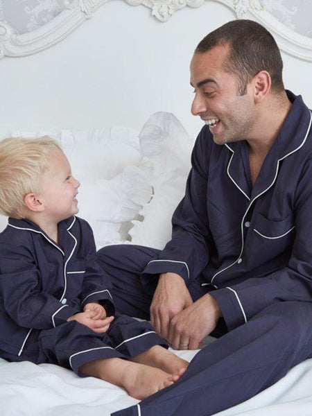Traditional Navy - Boys Pyjamas
