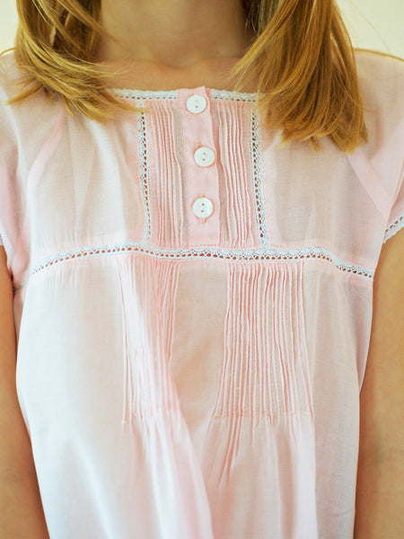 Pink Pyjamas - Pure Cotton Girls Pyjamas